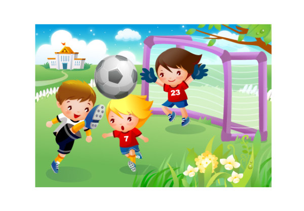Image result for football cartoon images